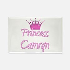 Princess Camryn Rectangle Magnet
