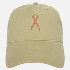 Red Ribbon Baseball Baseball Cap
