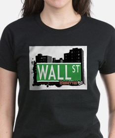 WALL STREET, MANHATTAN, NYC Tee