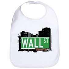 WALL STREET, MANHATTAN, NYC Bib