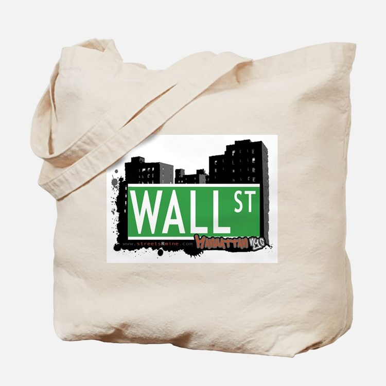 WALL STREET, MANHATTAN, NYC Tote Bag