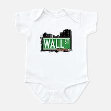 WALL STREET, MANHATTAN, NYC Infant Bodysuit