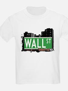 WALL STREET, MANHATTAN, NYC T-Shirt
