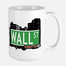 WALL STREET, MANHATTAN, NYC Mug