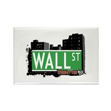 WALL STREET, MANHATTAN, NYC Rectangle Magnet