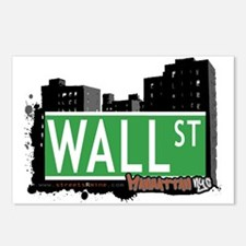 WALL STREET, MANHATTAN, NYC Postcards (Package of
