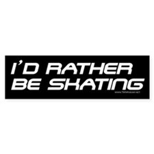 Time to Skate! Bumper Bumper Sticker