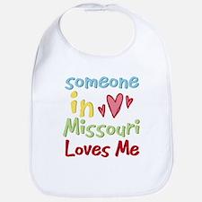 Someone in Missouri Loves Me Bib