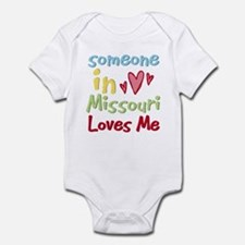 Someone in Missouri Loves Me Infant Bodysuit