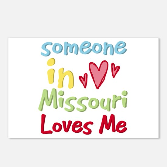Someone in Missouri Loves Me Postcards (Package of