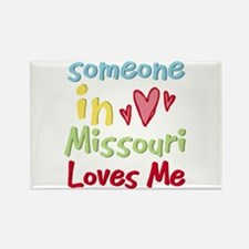 Someone in Missouri Loves Me Rectangle Magnet