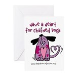 Have A Heart 2 Greeting Cards (Pk of 10)