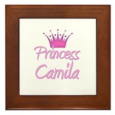Princess Camila Framed Tile