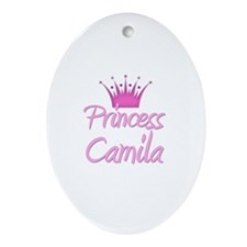 Princess Camila Oval Ornament