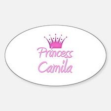 Princess Camila Oval Decal
