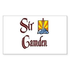 Sir Camden Rectangle Decal