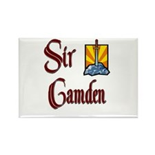 Sir Camden Rectangle Magnet