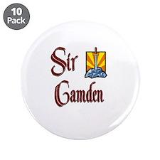 """Sir Camden 3.5"""" Button (10 pack)"""