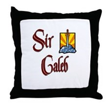Sir Caleb Throw Pillow