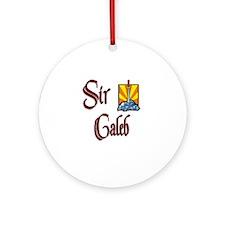 Sir Caleb Ornament (Round)