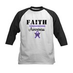 Faith Leiomyosarcoma Kids Baseball Jersey