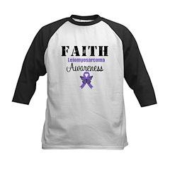 Faith Leiomyosarcoma Kids Baseball Jersey