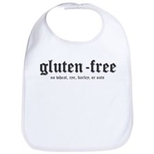 gluten-free, no wheat Bib