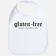 gluten-free, no wheat Bib