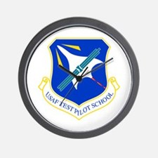 Test Pilot School Wall Clock