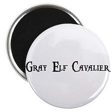 Gray Elf Cavalier Magnet