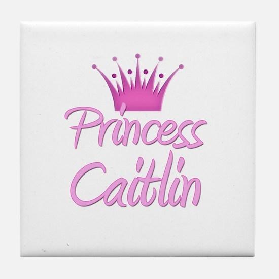 Princess Caitlin Tile Coaster