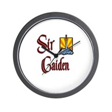 Sir Caiden Wall Clock