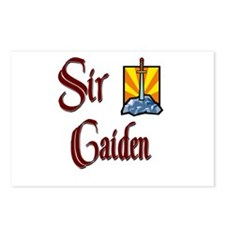 Sir Caiden Postcards (Package of 8)