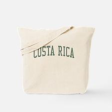Costa Rica Green Tote Bag