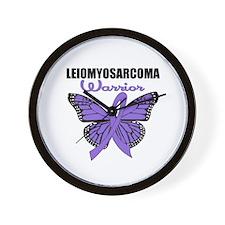 Leiomyosarcoma Warrior B Wall Clock