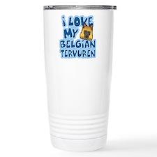 I Love my Tervuren Travel Mug