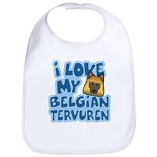 I Love my Tervuren Bib