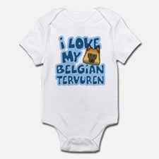 I Love my Tervuren Infant Bodysuit