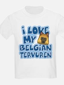 I Love my Tervuren T-Shirt