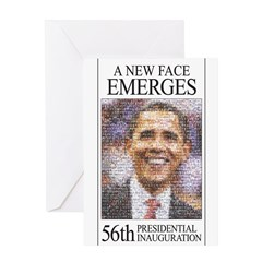 A New Face Emerges Greeting Card