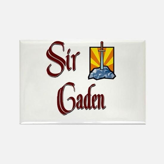 Sir Caden Rectangle Magnet