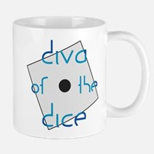 Diva of the Dice Mug
