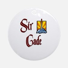 Sir Cade Ornament (Round)