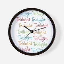Unique Twilight ocd Wall Clock