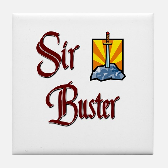 Sir Buster Tile Coaster