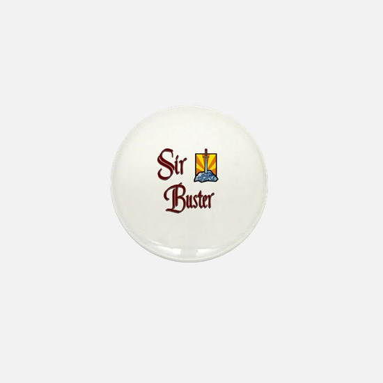 Sir Buster Mini Button