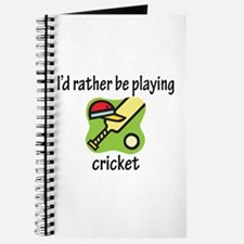 Playing Cricket Journal