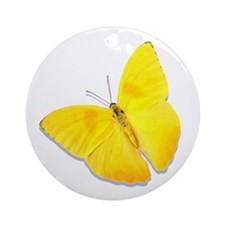 Cloudless Sulfur Ornament (Round)