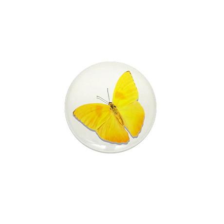Cloudless Sulfur Mini Button