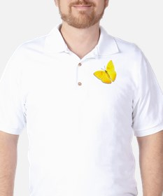 Cloudless Sulfur Golf Shirt